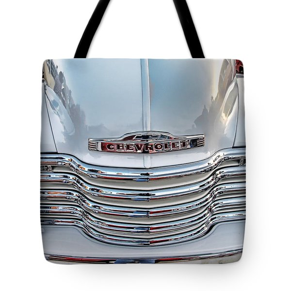 Tote Bag featuring the photograph Chevy Pickup Classic by Dyle   Warren