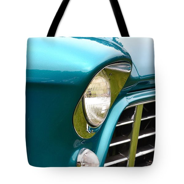 Chevy Pickup Tote Bag by Dean Ferreira