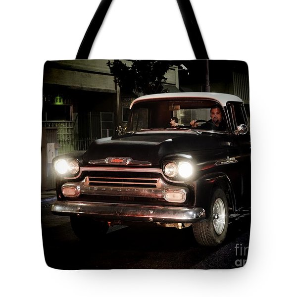 Chevy Pickup Truck Tote Bag by Nina Prommer