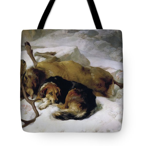 Chevy Tote Bag by Sir Edwin Landseer