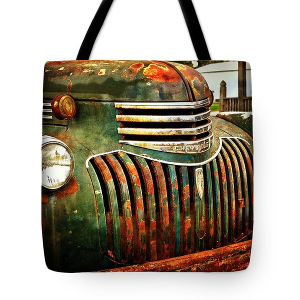 Chevy Truck Tote Bag by Marty Koch