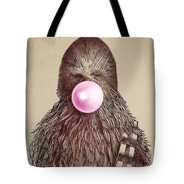 Big Chew Tote Bag by Eric Fan