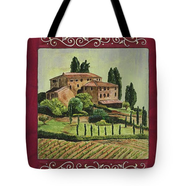 Chianti And Friends Collage 1 Tote Bag by Debbie DeWitt