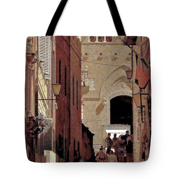 Chiaroscuro Siena  Tote Bag