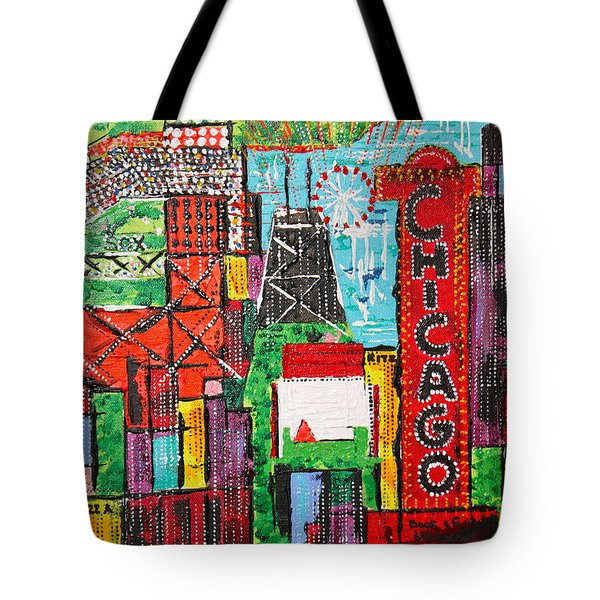 Chicago - City Of Fun - Sold Tote Bag