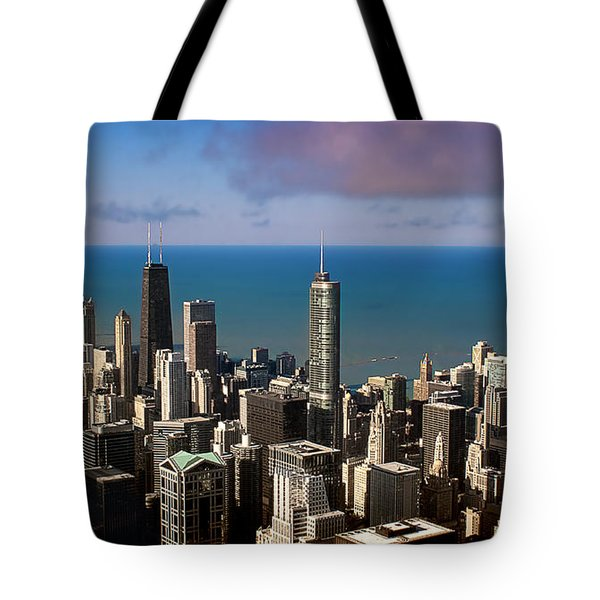Chicago Before Sunset Tote Bag