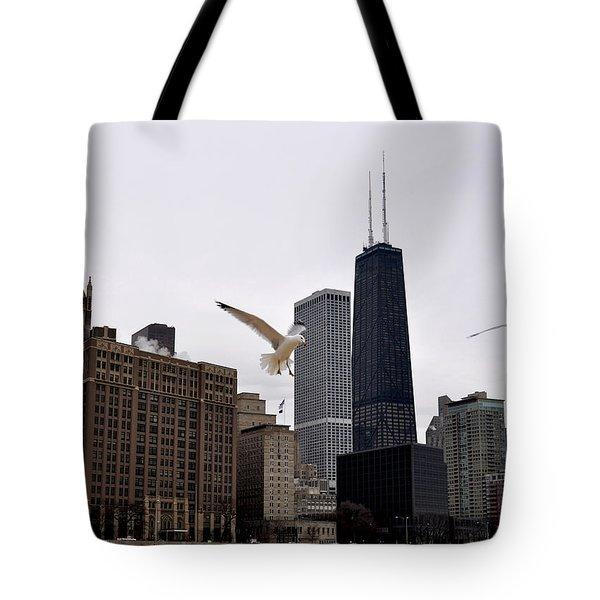 Chicago Birds 2 Tote Bag