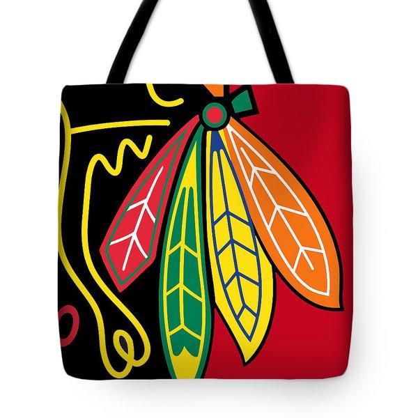 Chicago Blackhawks 2 Tote Bag