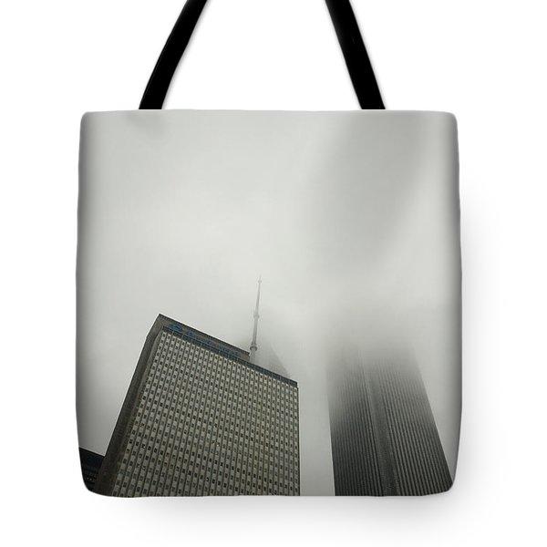 Chicago Cloud Atlas Tote Bag by Joanna Madloch