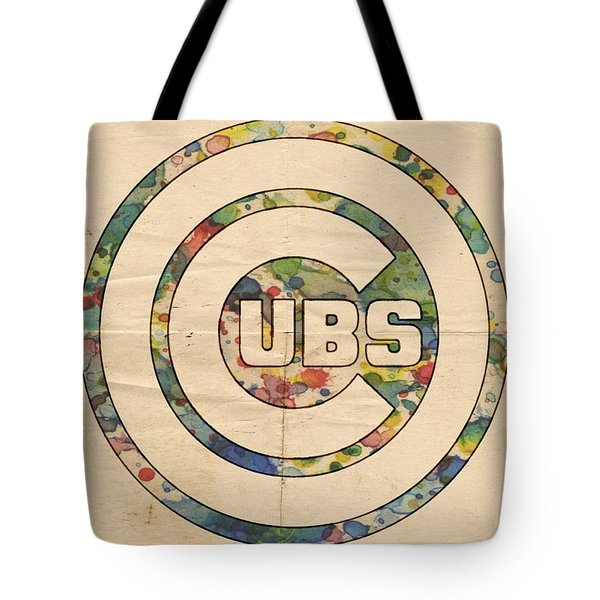 Chicago Cubs Vintage Logo Tote Bag