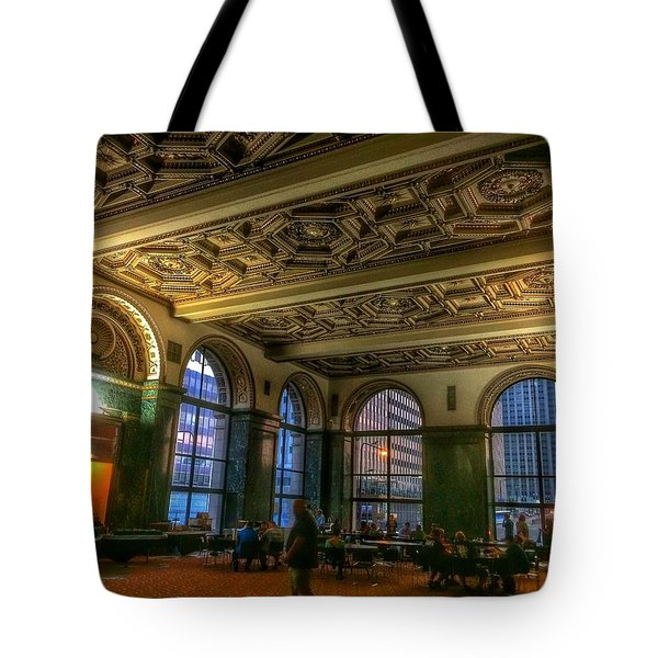 Chicago Cultural Center Hall Tote Bag