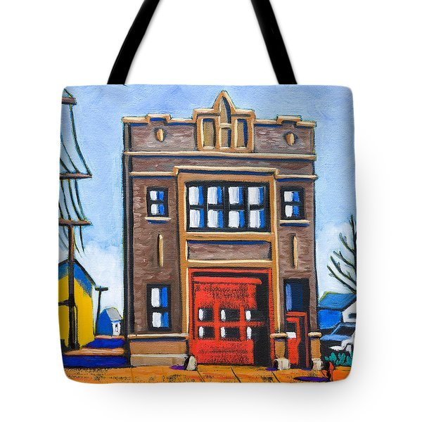 Chicago Fire Station Tote Bag