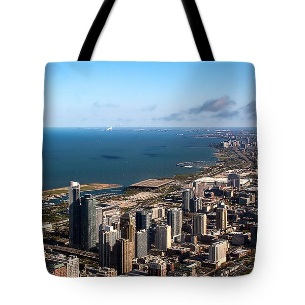 Chicago From Above Tote Bag