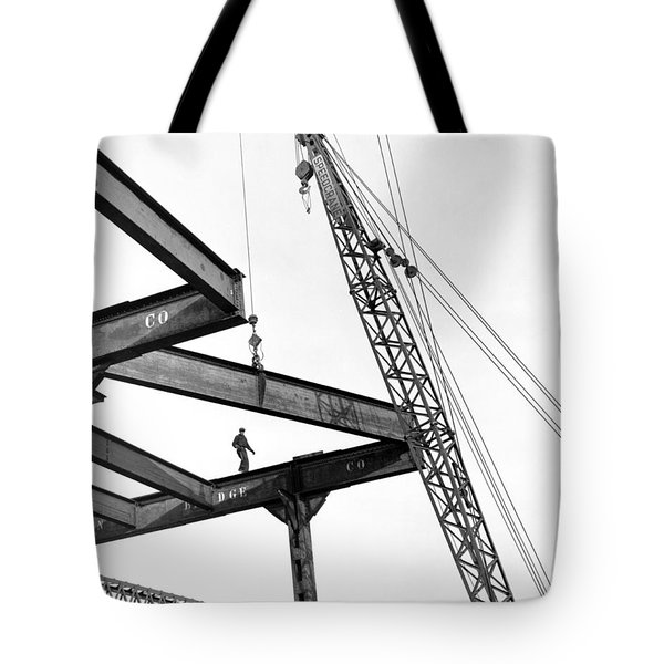 Chicago High Rise Construction Tote Bag