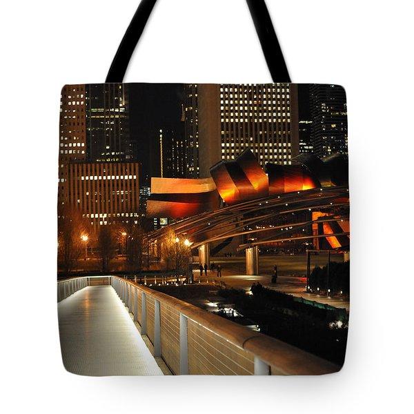 Chicago Millenium Park Tote Bag by Steve Archbold