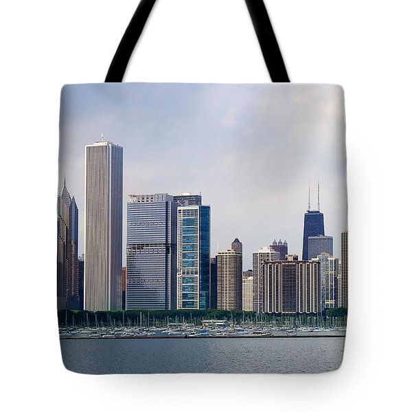 Chicago Panorama Tote Bag