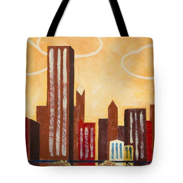 Chicago River I Tote Bag