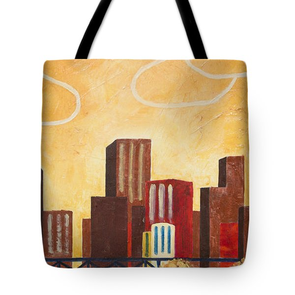 Chicago River II Tote Bag
