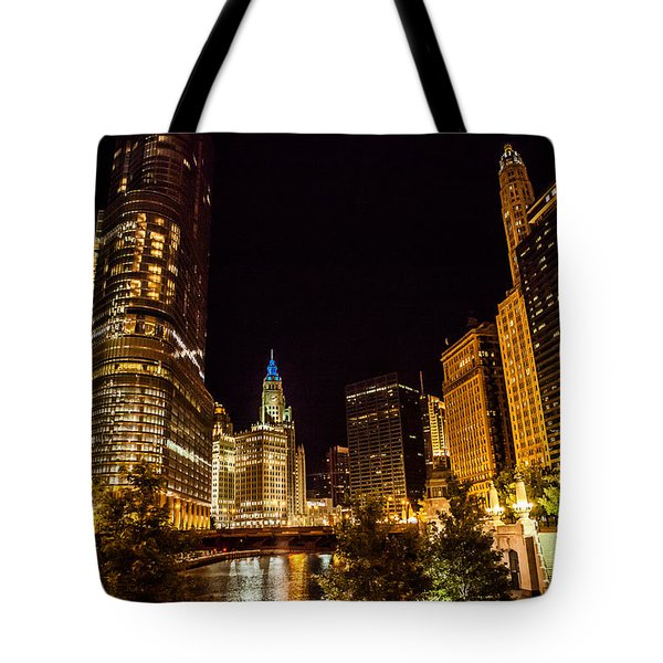 Chicago Riverwalk Tote Bag