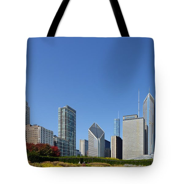 Chicago - What A Beautiful City Tote Bag