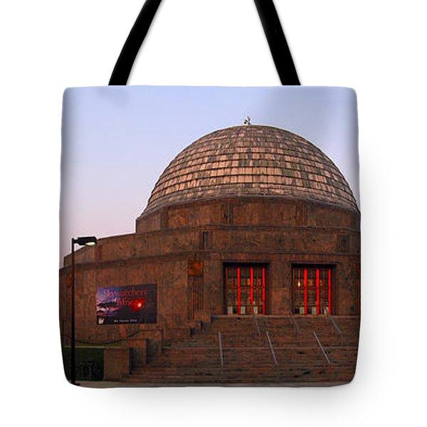 Chicago's Adler Planetarium Tote Bag by Adam Romanowicz