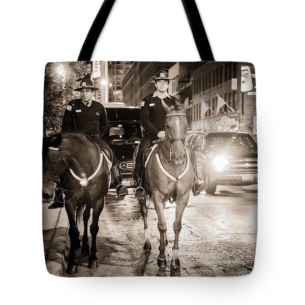 Chicago's Finest Tote Bag by Melinda Ledsome