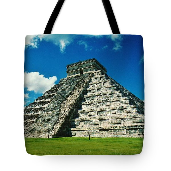 Chichen Itza Tote Bag