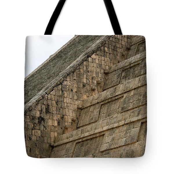 Tote Bag featuring the photograph Chichen Itza by Silvia Bruno
