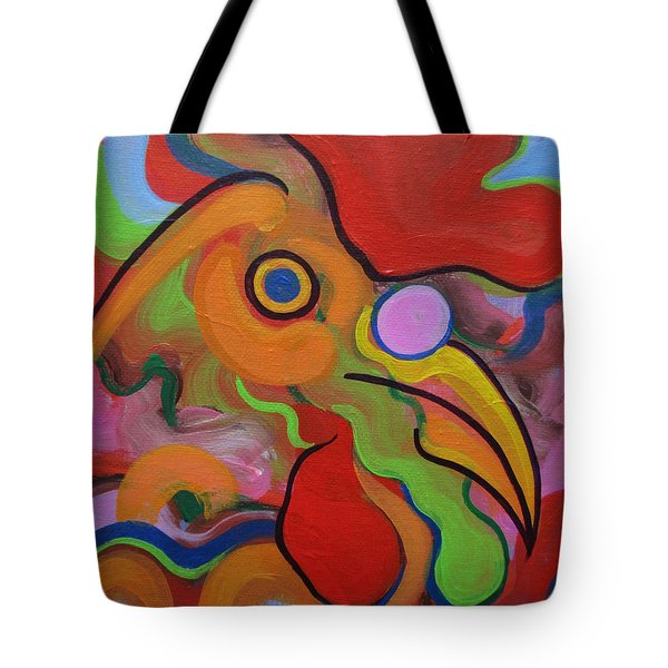 Chick Chock Fun Tote Bag