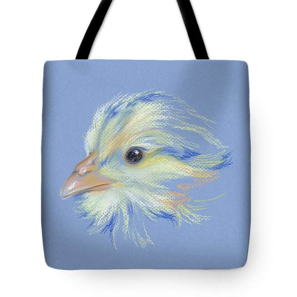Chick - Plymouth Barred Rock Tote Bag