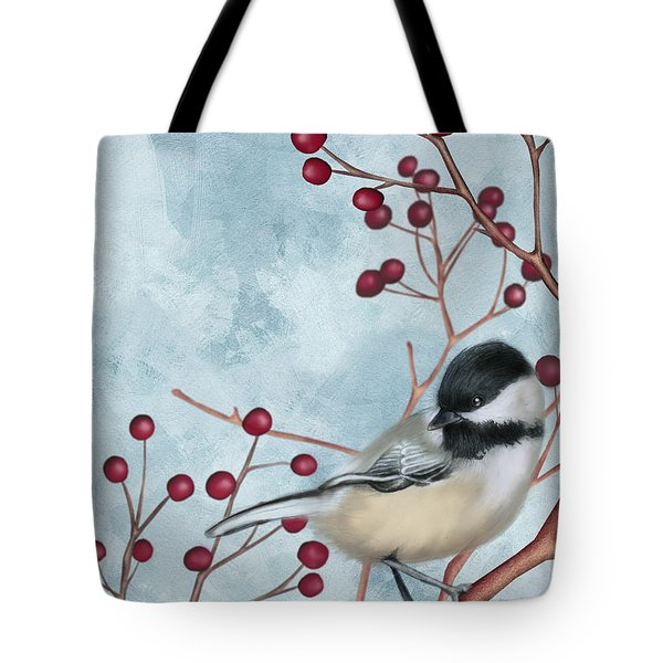 Chickadee I Tote Bag