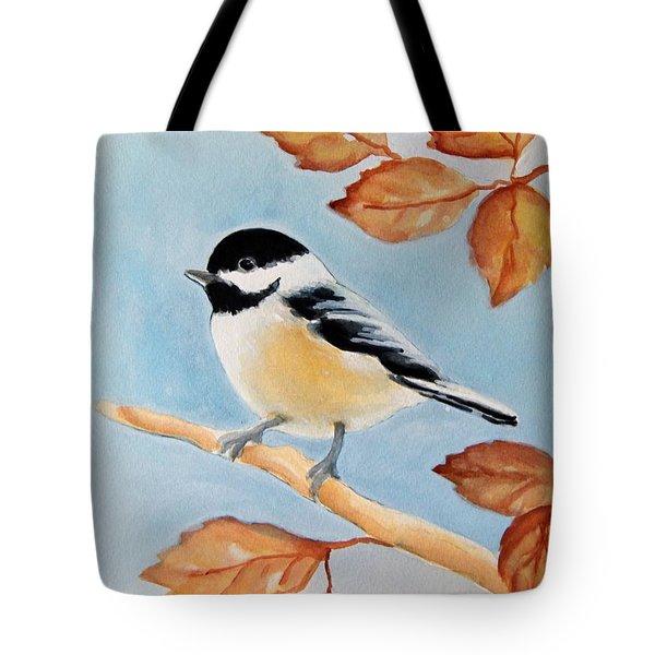 Chickadee Tote Bag