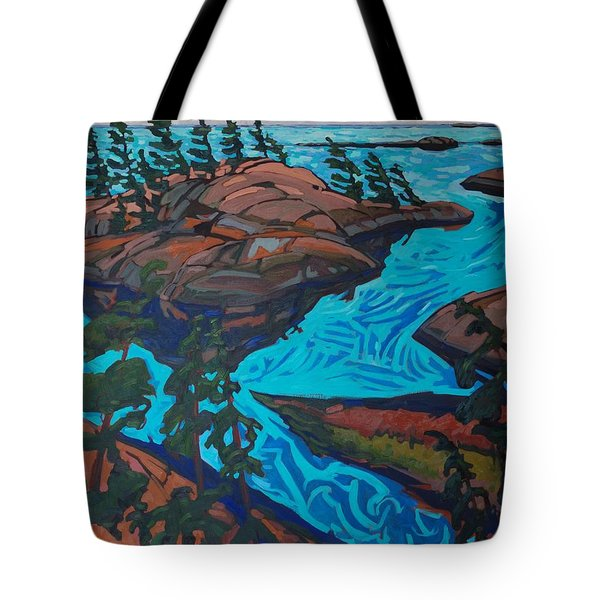 Chickanishing Creek Tote Bag by Phil Chadwick