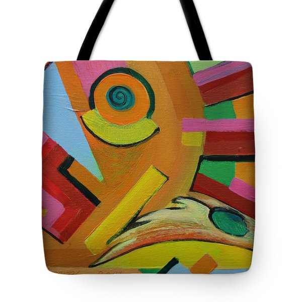 Chicken Cog Tote Bag