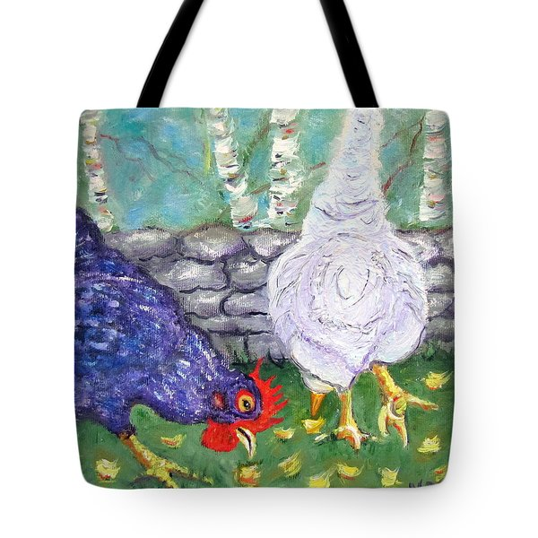 Chicken Neighbors Tote Bag