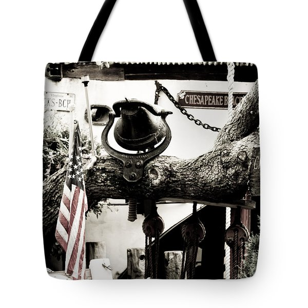 Chick's Beach Marina Tote Bag