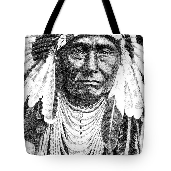 Chief-joseph Tote Bag