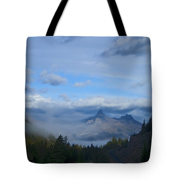 Chief Joseph Hiway-signed-#0001 Tote Bag