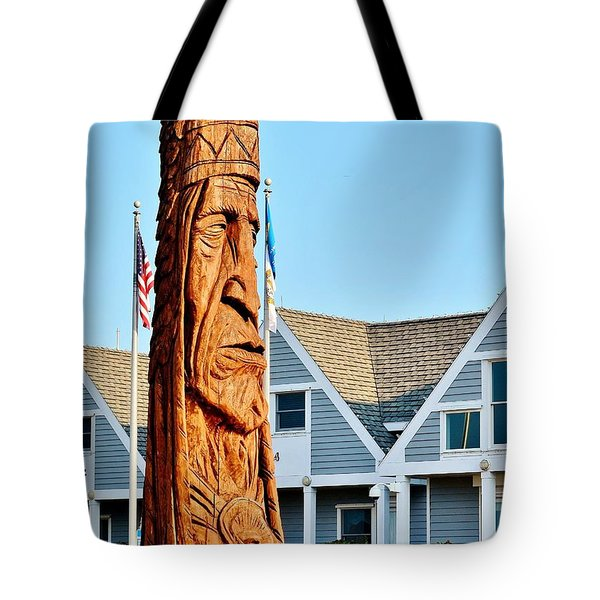 Chief Little Owl Tote Bag