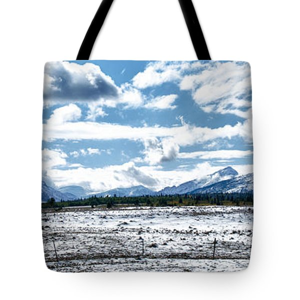 Chief Of The Mountains Tote Bag by Renee Sullivan