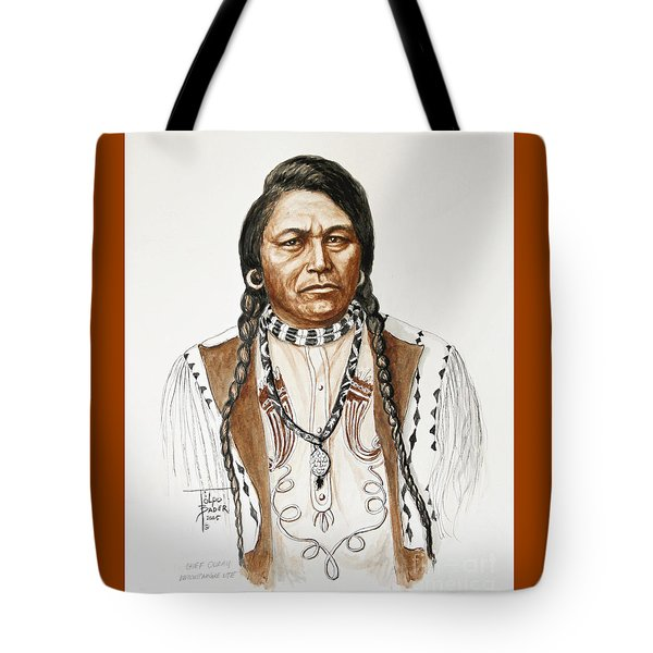 Chief Ouray Tote Bag