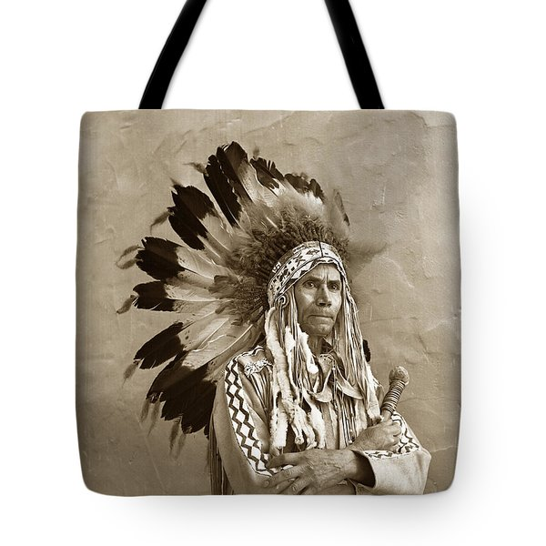 Chief Red Eagle Carmel California Circa 1940 Tote Bag