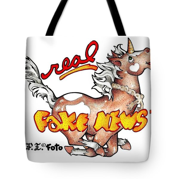 Real Fake News Fpi Foto Tote Bag