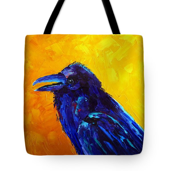 Chihuahuan Raven Tote Bag by Susan Woodward