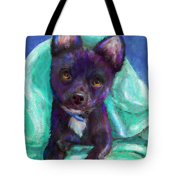 Chihuaua Tote Bag by Jane Schnetlage