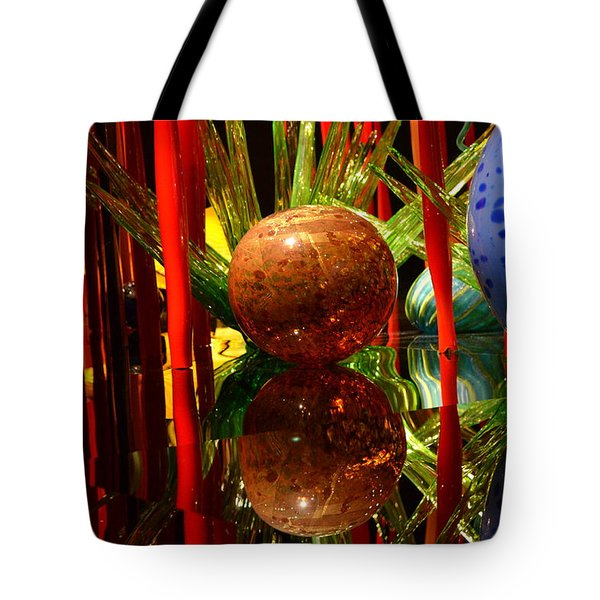 Chihuly-10 Tote Bag by Dean Ferreira
