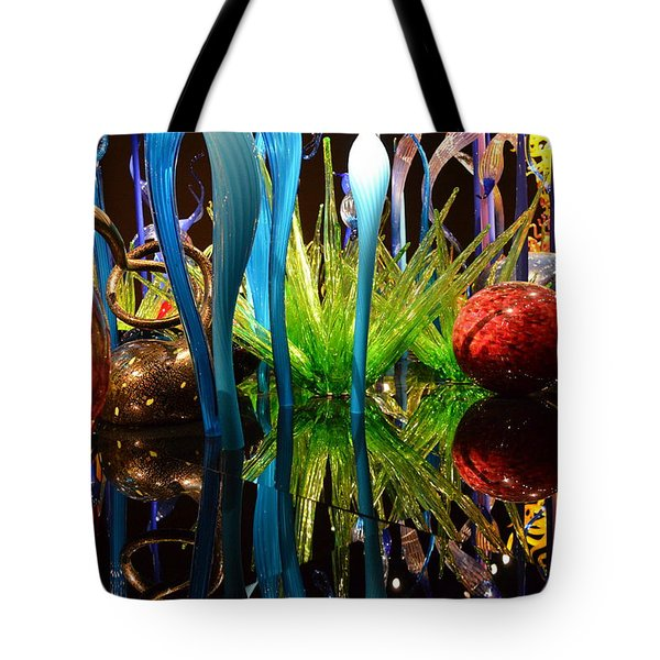 Chihuly-11 Tote Bag by Dean Ferreira