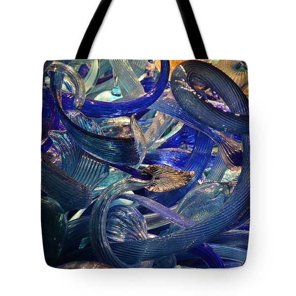 Chihuly-2 Tote Bag by Dean Ferreira