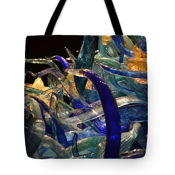 Chihuly-3 Tote Bag by Dean Ferreira