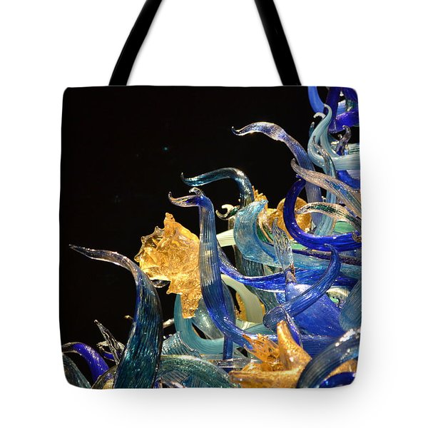 Chihuly-4 Tote Bag by Dean Ferreira